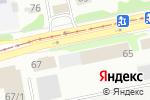 Схема проезда до компании Крокус в Бийске