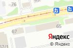 Схема проезда до компании АлтайСтройДом в Бийске