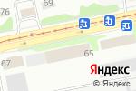 Схема проезда до компании Лесная школа в Бийске