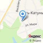 Усть-Катунская основная общеобразовательная школа на карте Бийска