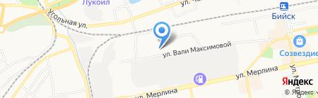 Детский эколого-биологический центр на карте Бийска