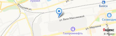 Центр Сибирского виноградарства на карте Бийска