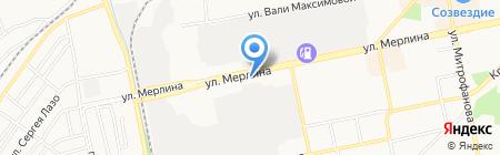 Анютка на карте Бийска