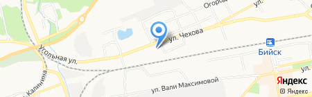 НовоТранс на карте Бийска