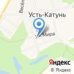 Почтовое отделение №70 на карте Бийска