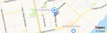 Хмельной Стан на карте Бийска