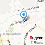 Городская больница №3 г. Бийска на карте Бийска