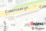 Схема проезда до компании Тихий дворик в Бийске