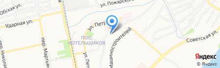 АПК на карте Бийска