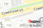 Схема проезда до компании Пешеход в Бийске