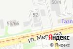 Схема проезда до компании Tesla в Бийске