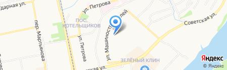 Зенит на карте Бийска