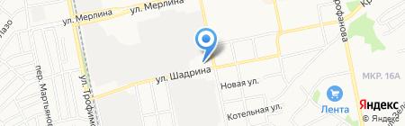 Дизелёк на карте Бийска