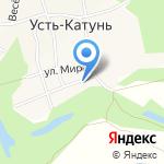 На набережной на карте Бийска