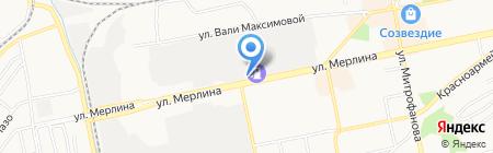 Пара на карте Бийска