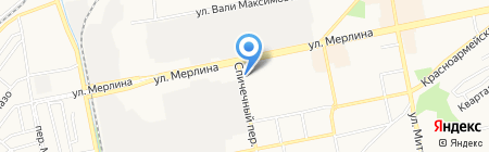 Медприн на карте Бийска