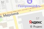 Схема проезда до компании Бийский Завод Строительных Материалов в Бийске