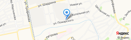 Кузов на карте Бийска