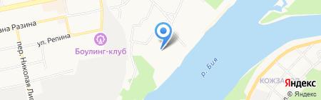 Атмосфера на карте Бийска