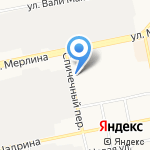 Ведомственная охрана объектов промышленности Российской Федерации на карте Бийска