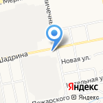БЛИННЫЙ ДВОРЪ на карте Бийска