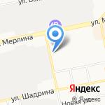 УФСИН России по Алтайскому краю на карте Бийска