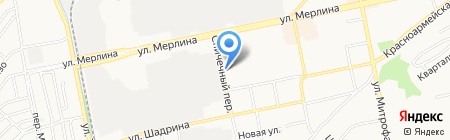 Алтай-Командор на карте Бийска