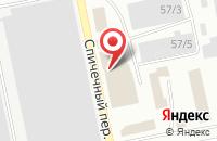 Схема проезда до компании Экотеп+ в Бийске