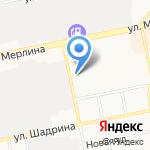 РАТЭК на карте Бийска