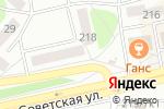 Схема проезда до компании Ева в Бийске