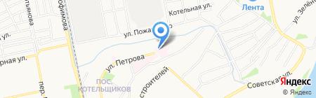 ЧУЗ Сибирское здоровье-Алтай на карте Бийска