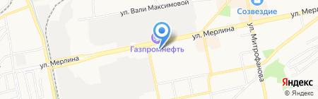 Компания Металл Профиль на карте Бийска