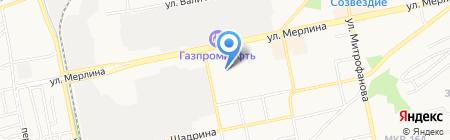 Легенда жизни на карте Бийска