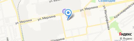 Компас-Кенгуру на карте Бийска
