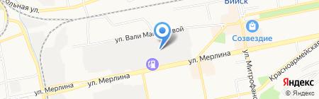 Партнер Сибири на карте Бийска