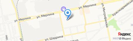 Онест Логистик на карте Бийска