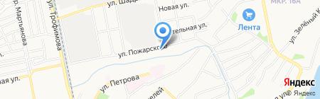 В гостях у Артема на карте Бийска