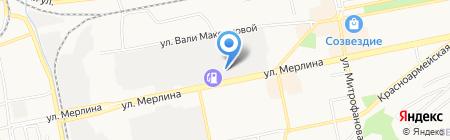 СЛОН на карте Бийска