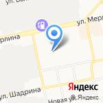Русский транзит на карте Бийска