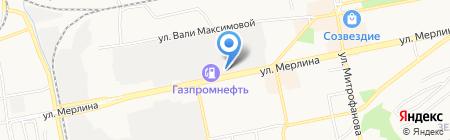 ЦЕНТР САНТЕХНИКИ на карте Бийска