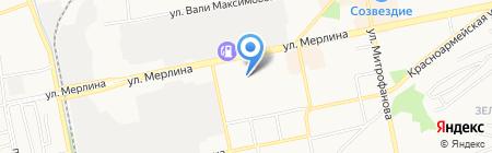 Транспортно-погрузочная фирма на карте Бийска