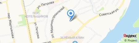 Мастерская по ремонту обуви на Советской на карте Бийска
