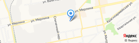 Литейная Промышленная Компания на карте Бийска