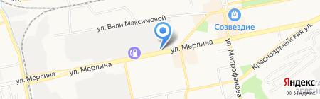 БТС на карте Бийска