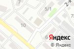 Схема проезда до компании Янтарь в Бийске