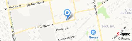 Авторитет на карте Бийска