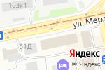 Схема проезда до компании Нефрит в Бийске