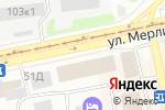 Схема проезда до компании Аквилегия в Бийске