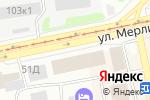 Схема проезда до компании РАДУГА в Бийске