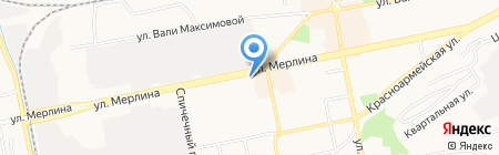 Любимый город на карте Бийска